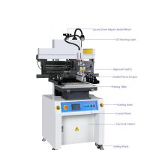 Cheap price SMT semi auto solder paste printer manufacturer for LED Manufactures