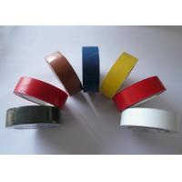 China Fixing Colored Electrical Tape Anti Corrosion 12mm For Air Conditioning on sale
