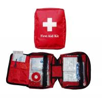 Light Durable Health Care Disposable Medical Consumables Travel First Aid Kit Manufactures