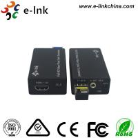 Mini HDMI Fiber Optic Extender with external stereo audio Manufactures