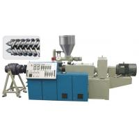 Plastic Single Screw Extruder 150 - 1500KG / H Speed For PE Sewage Pipe