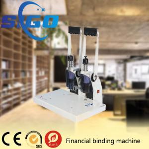 S450 financial binding machine office use rivet tube binding machine Manufactures