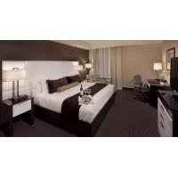 Modern Style Leather Upholstery Wall Headboard Bedroom Furniture and TV cabinet with Office desk table Manufactures
