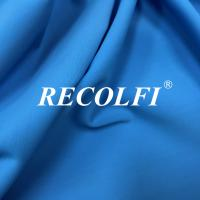 Woven Stretch Twill Elastic Repreve Recycled Polyester Fibers With Soft Skin Feeling Manufactures