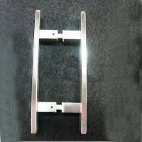 Bathroom Stainless Steel Brush Glass Door Handle / Pull made in china ( BA-PH002 ) Manufactures