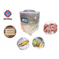 Small Meat Vegetable Vacuum  Food Packing Machine Sealing Width  400X10mm Manufactures