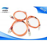 China MM 3.0 DX LSXH PVC 2M Fiber Optic Patch Cables SC UPC SC UPC For Aerospace on sale