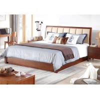 Practical Mordern Light  Solid Wood Bed Frame Color Optional Environment - Friendly Manufactures