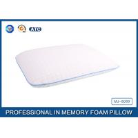 White Tencel Antimicrobial Ventilated Traditional Memory Foam Pillow Manufactures