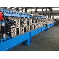 China Corrugated Sheet Roll Forming Machine , Metal Roofing Forming Machine By Chain on sale