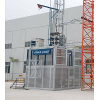 Twin Cage Material Lifting Equipment Construction Passenger Hoist 2 Ton Capacity Manufactures
