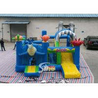 Sealife Inflatable Combo Bouncy Castle With Slide For Kids Inflatable Playground Party Time Manufactures