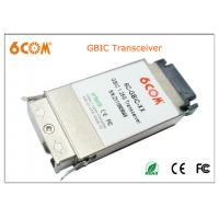 China SMF GBIC Transceiver module 1.25G 80KM and Duplex SC with FCC CE Rohs on sale