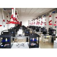 High Precision Dual Extruder 3D Printer Machine Metal Frame With Acrylic Windows Manufactures