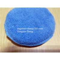 China microfiber car cleaning, house cleaning applicator pad on sale