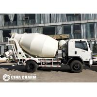 China Diesel 6M3 Concrete Mixer Truck Quick Discharging , Field Installation on sale