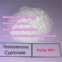 Testosterone Cypionate Raw Steroid Powders Testosterone Cypionate  Dihydroboldenone DHB Muscle Building Manufactures
