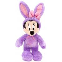 Eco Friendly Soft Minnie Mouse Plush Stuffed Bunnies For Easter , Purple Manufactures