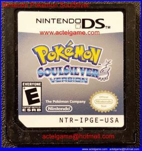 Nintendo Pokemon SoulSilver Manufactures