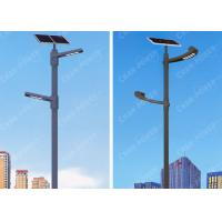 Outdoor 80w CREE LED Smart Solar Street Light 10800lm Flux Smooth Surface 12.8V Manufactures