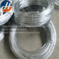 Gauge 21 Galvanized wire and gi binding wire Manufactures