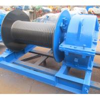 Industrial Electric Winch High Speed For Crane , Electric Hoist Lifting Winch Manufactures
