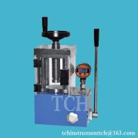 15T Manual Hydraulic Press with digital pressure gauge Manufactures