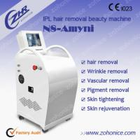 China Vertical IPL Hair Removal Machines / Hair Salon Equipment For Hair Treatment on sale