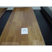 China Finger-Jointed Solid Wood Flooring on sale