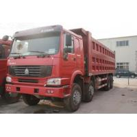 HOWO 33Tons Dump Truck / dumper truck with parts for Sand stone Transport Manufactures