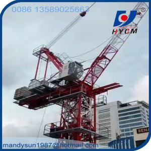 VFD Luffing Jib Tower Crane QTD260(6029) 16 ton 60m Jib Crane Manufactures
