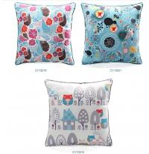 Quality Digital floral printing cushion,custom design cushion,sofa decorative square for sale