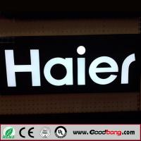 Outdoor advertising backlit ABS letter sign Manufactures
