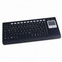 China Laser Bluetooth Keyboard with TouchPad, Laser Pointer and Remote Controller on sale