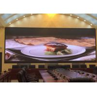 HD Full Color Indoor Fixed LED Display 3in1 160x160mm Module Size Manufactures
