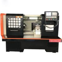 Quality Flat Bed CNC Lathe Machine with Swing diameter 500mm and Length 1000mm for sale