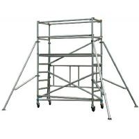 Lightweight Ladder Multi Purpose Aluminium Mobile Scaffold / Mobile Scaffold With Wheels Manufactures