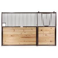 Bamboo Infill Horse Stable Doors Dutch With Double Wooden Sliding Door Manufactures