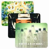 Mouse Mats with Felt Colorful Rectangular or Free-contour Features Manufactures
