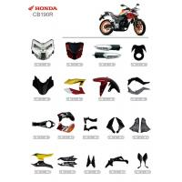 China ABS Plastic Material Motorcycle Spare Parts Honda CB190R Corrosion Resistant on sale