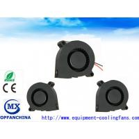 51mm Sleeve Bearing  DC Blower Fan / 5v 12v 24v DC Centrifugal Fan With Lead Wire Manufactures