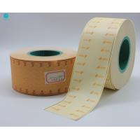 China Red Hot Stamping Cork Tipping Paper With Mint Sweeteners For Tea Cigarette Filter Rod Packaging on sale