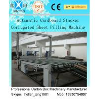 Auto Carton Packing Machine 2200mm 2800mm 3200mm Width With Corrugated Belt