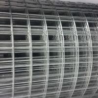 China Galvanized Welded Wire Mesh Panels Low Carbon Iron For Bird / Rabbit / Dog Cages on sale