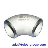 ASTM A403 WP321 / H Butt Weld Fittings Long Radius 90 Degree Elbow Manufactures