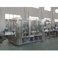 China 380V / 50HZ 3 in 1 Beverage Filling Machine Automatic Mineral Water Bottling Plant on sale