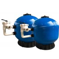 Buy cheap Fiberglass Pool Side Mount Filter , Swimming Pool Filter System High Durability from wholesalers