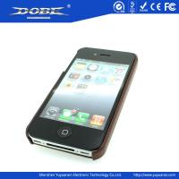 Fashion PU protective Case with pattern for iPhone5