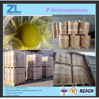 China MF C6H4O2 P-benzoquinone yellow powder raw material for paint industry on sale