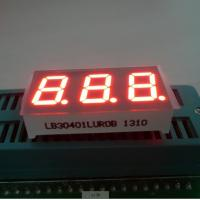 Triple Digit 7 Segment LED Digital Display For Instrument Panel Indicator 0.40 inch Manufactures